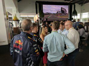 Miss Direction F1 Paddock Club